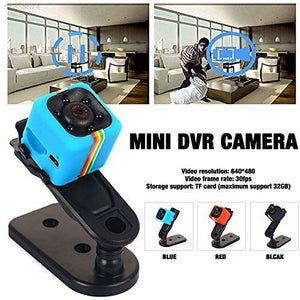Mini Camera SQ11 HD 1080P Camcorder Sports Mini DV Video Recorder Spy Cameras with Night Vision & Motion Detection Security Camera - TUZZUT Qatar Online Store