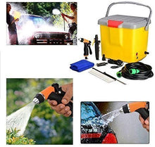 Load image into Gallery viewer, Portable 12V DC Car Washer Pump Bucket Car Washer | Car Wash Kit | Car Wash Machine for Garden/Car/Bike/Pet Wash