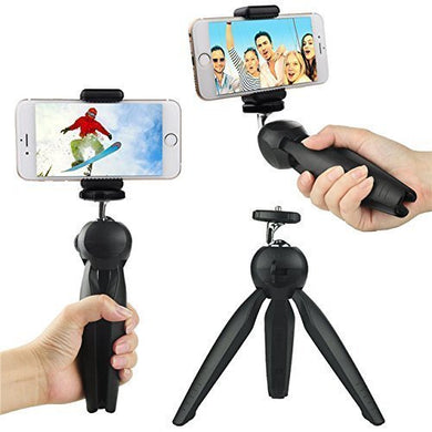 Yunteng XH- 228 Universal Mini Tripod Stand for Mobile Phones - TUZZUT Qatar Online Store