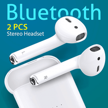 Load image into Gallery viewer, Modio ME3 Touch Sensor 2 Side Calling / HiFi Sound TWS Wireless Bluetooth Headset, White