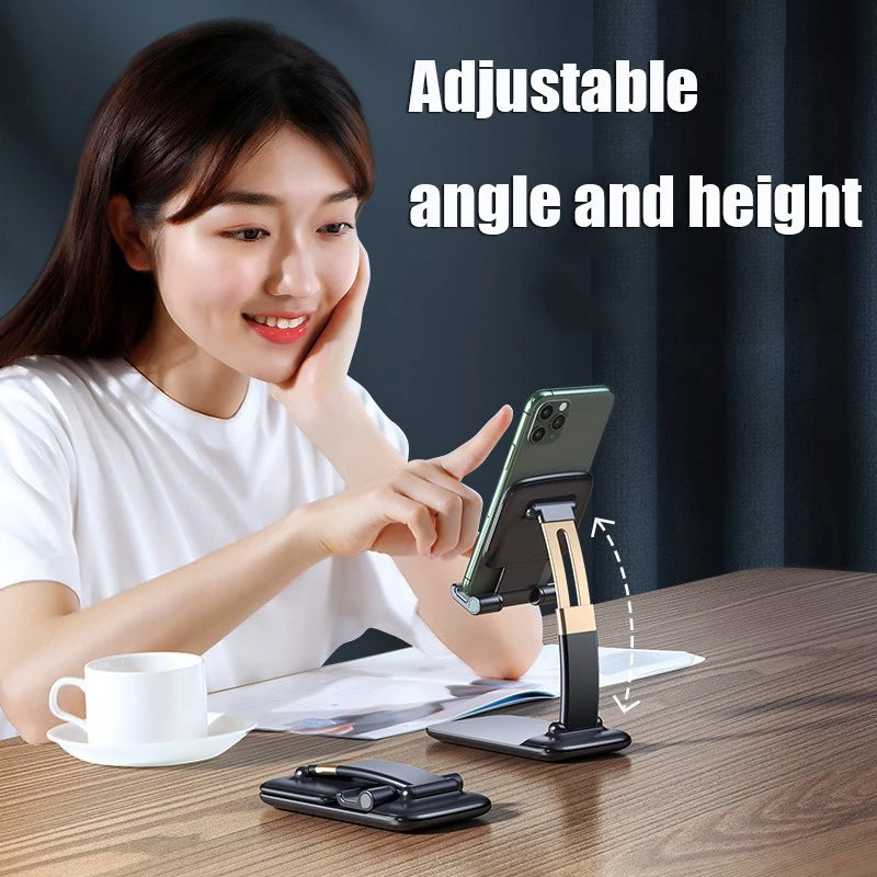 Desktop Phone Tablet Holder - Foldable - TUZZUT Qatar Online Store
