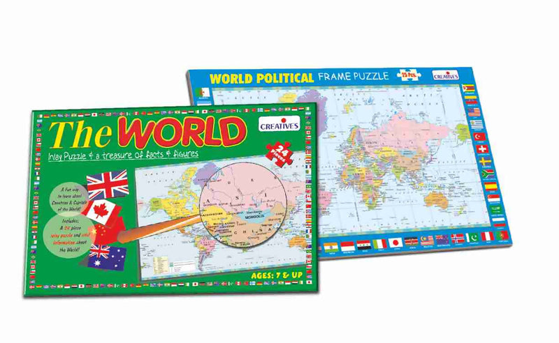 Know Your World -An Activity Pack - TUZZUT Qatar Online Store