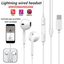Load image into Gallery viewer, Automatic pop-up window Headphones Wired Bluetooth Earphone for Apple IPhone X XR XS Max 8 7 Plus Earbuds with Microphone EarPhone - TUZZUT Qatar Online Store