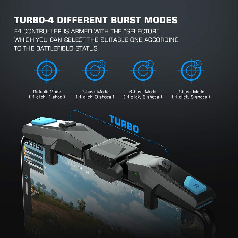 GameSir F4 Falcon Plug and Play Trigger Controller for Android and iOS Mobile Phones - TUZZUT Qatar Online Store