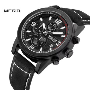 MEGIR Fashion Sports Watch, Army Military Watch ML2026 - TUZZUT Qatar Online Store