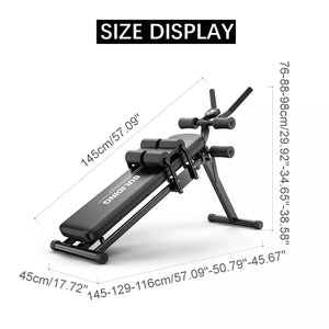 Abdominal Device and Sit-ups Bench Multi-Workout Adjustable Fitness Gym Equipment - TUZZUT Qatar Online Store