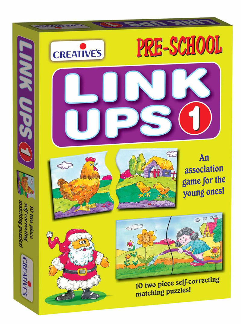 Link Ups 1 (10 two piece Puzzles) - TUZZUT Qatar Online Store