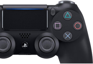 DualShock 4 Wireless Controller for PlayStation 4 - Jet Black - TUZZUT Qatar Online Store