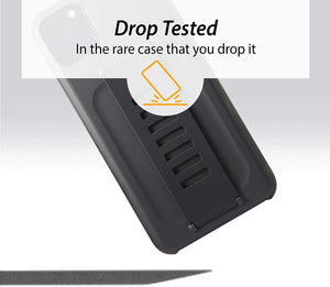 Grip2ü Boost Charcoal Black Phone Grip Case Cover (iPhone 11 Pro/iPhone 11 Pro Max) - TUZZUT Qatar Online Store