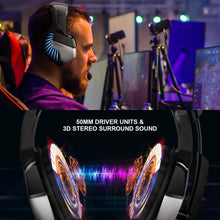 Load image into Gallery viewer, ONIKUMA K5 Pro Stereo Gaming Headset Over-ear Headphones with MIC LED Light - TUZZUT Qatar Online Store