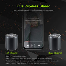 Load image into Gallery viewer, EWA A107 Portable Wireless Bluetooth Small Metal Speaker - TUZZUT Qatar Online Store