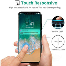 Load image into Gallery viewer, 5D Curved 9H Hardness Tempered Glass Screen Protector for iPhone Mobiles - TUZZUT Qatar Online Store