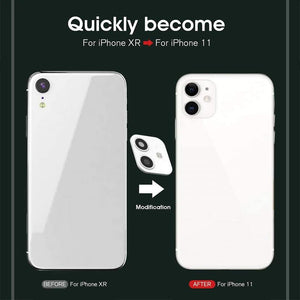 Fake Camera Sticker for IPhone XR - Change to iPhone 11 - TUZZUT Qatar Online Store