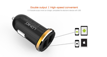 Load image into Gallery viewer, LDNIO 2 USB 5V-2.1A Quick Car Charger (Dual Port) - TUZZUT Qatar Online Store