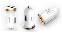 Load image into Gallery viewer, LDNIO 2 USB 5V-2.1A Quick Car Charger (Dual Port)