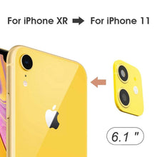 Load image into Gallery viewer, Fake Camera Sticker for IPhone XR - Change to iPhone 11