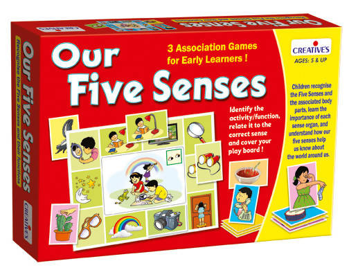Our Five Senses (New) - TUZZUT Qatar Online Store