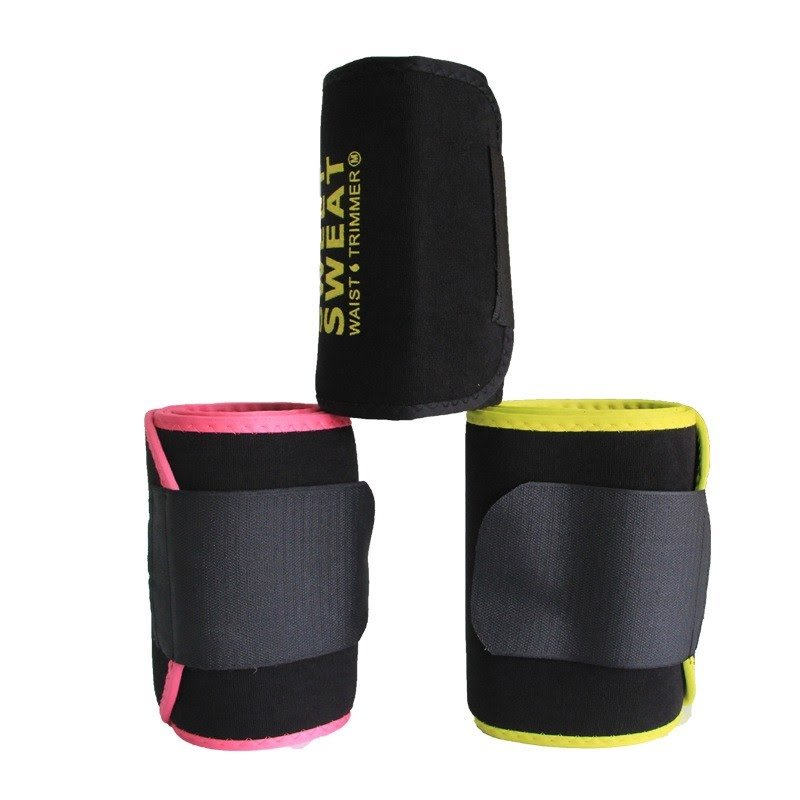Slimming Waist Trainer Sweet Sweat Waist Trimmer Fitness Belt Adjustable - TUZZUT Qatar Online Store