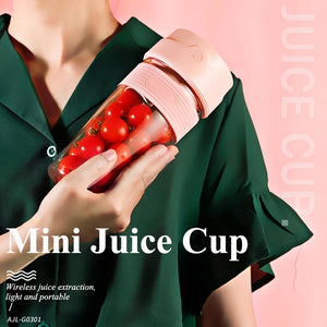 Portable 300ml Mini Juice Blender Cup Rechargeable - TUZZUT Qatar Online Store