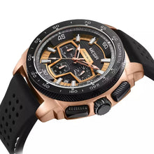 Load image into Gallery viewer, MEGIR 2056 Men's Casual Luxury Silicone Band Military Chronograph Sport Watch