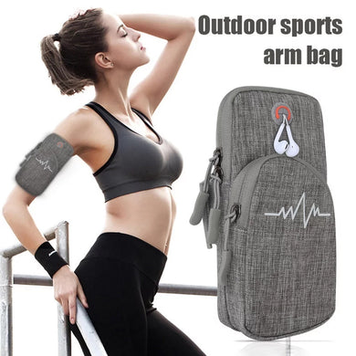 Phone Arm Bag with Zipper Portable Arm Pouch for Running Sports Fitness - TUZZUT Qatar Online Store