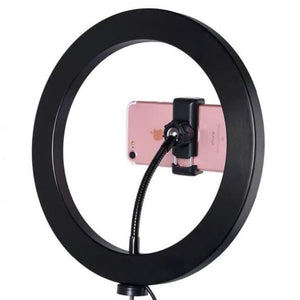 10-Inch Selfie Ring Fill Light Zd666 - 2600Lm 8W 120 Led With Tripod