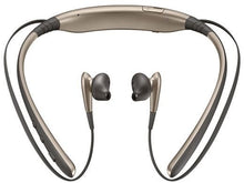 Load image into Gallery viewer, Samsung Level U Bluetooth Stereo Headset Flexible Joint With Neckband (Gold)