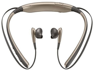 Samsung Level U Bluetooth Stereo Headset Flexible Joint With Neckband (Gold) - TUZZUT Qatar Online Store