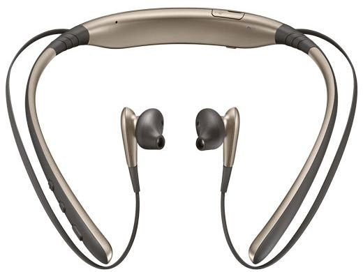 Samsung Level U Bluetooth Stereo Headset Flexible Joint With Neckband- Gold - TUZZUT Qatar Online Store
