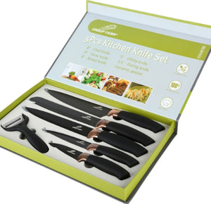 Kitchen Knife Set of 6 Pieces - TUZZUT Qatar Online Store