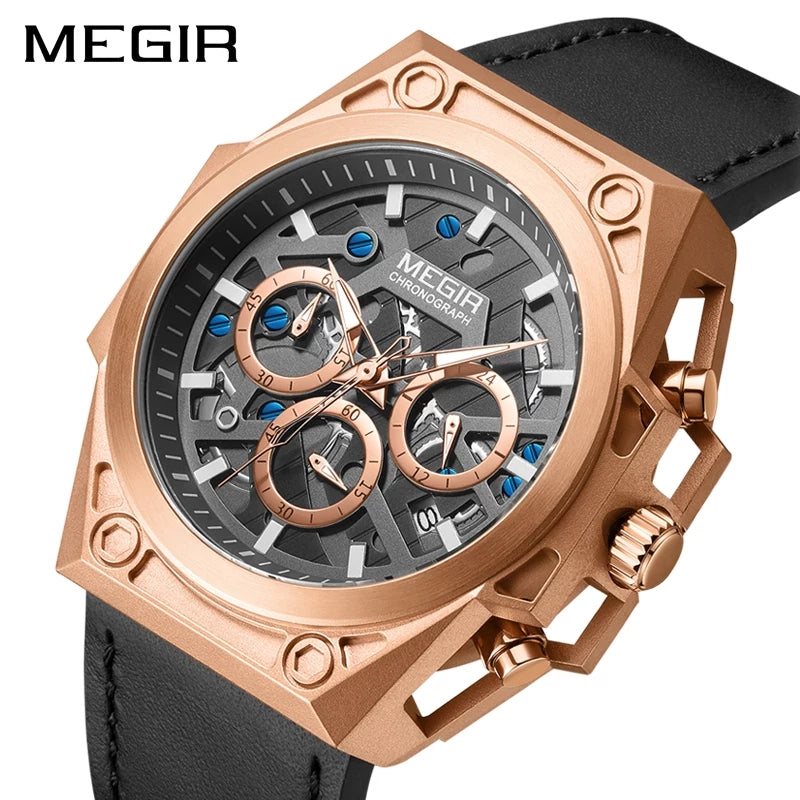 Megir 4220 Sports Edition Chronograph Watch - TUZZUT Qatar Online Store