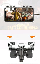 Load image into Gallery viewer, 1 Pair PUBG Mobile Game Controller Metal Trigger