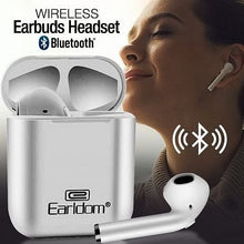 Load image into Gallery viewer, Earldom Wireless 5.0 BT Version Bluetooth Earbuds Headset, ET-BH16 - TUZZUT Qatar Online Store