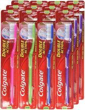 Load image into Gallery viewer, Colgate Toothbrush Double Action, Medium (Pack of 12) - TUZZUT Qatar Online Store