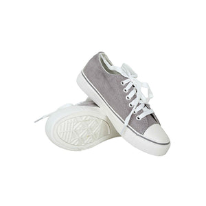 Conasers canvas shoes for women -Grey - TUZZUT Qatar Online Store