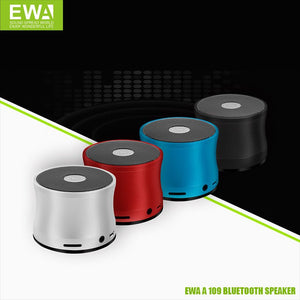 EWA A109 Portable Wireless Bluetooth Small Metal Speaker - TUZZUT Qatar Online Store