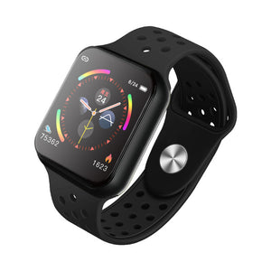 F9 Sports Smart Watch Full Touchscreen Bluetooth Music Control Heart Rate Monitor Sleep Tracker Support IOS Android