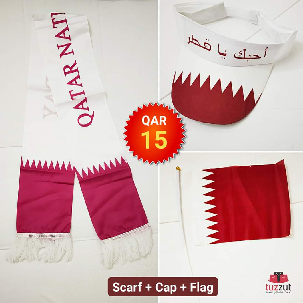 3 in 1 Qatar National Day Combo
