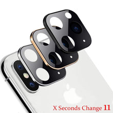 Load image into Gallery viewer, Fake Camera Sticker for IPhone X - Change to iPhone 11 - TUZZUT Qatar Online Store