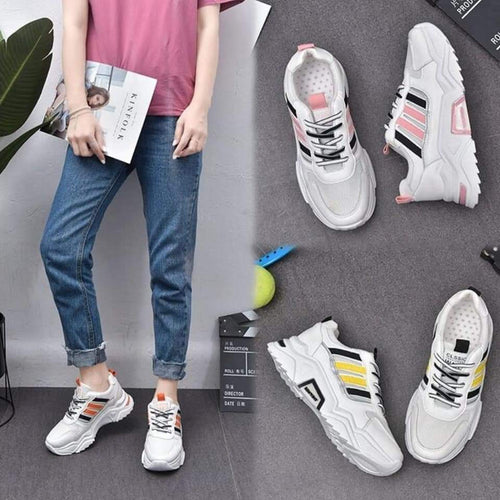 Super Quality Women's Fashion Breathable Mesh Shoes - Women Sneakers  - Model# 503