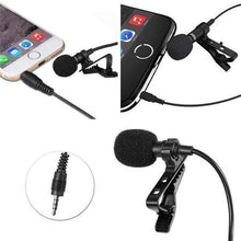 Load image into Gallery viewer, Candc DC-C1 Lavalier Microphone Micro- Cravate Clip-On Mic for Smartphones, DSLR, Camcorders, Audio recorders, PC - TUZZUT Qatar Online Store