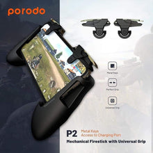 Load image into Gallery viewer, PORODO P2 Mechanical Firestick Triggers with Universal Grip for Mobile Phone - TUZZUT Qatar Online Store