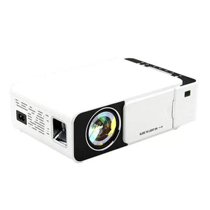 T5 Portable LED 1080P Video HD Projector 2600 Lumens 800*400 Wi-Fi Ready With HDMI, VGA, AV, USB, SD Card - TUZZUT Qatar Online Store