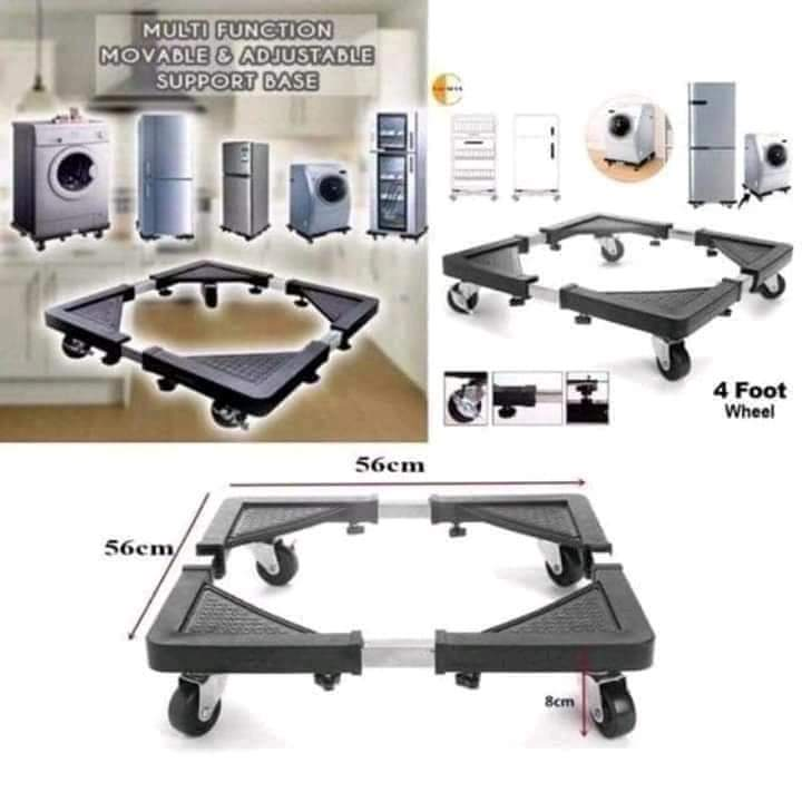 Movable and adjustable base for Washing machine and refrigerator - TUZZUT Qatar Online Store