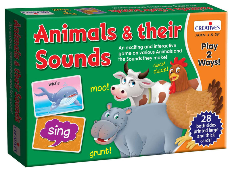 Animals and their Sounds - TUZZUT Qatar Online Store