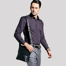 Load image into Gallery viewer, VICUNA POLO Leather Men Messenger Business Leather Shoulder Bag - TUZZUT Qatar Online Store