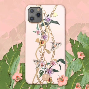 KINGXBAR Swarovski Crystal Hard PC Case Cover for Apple iPhone 11 Pro Max
