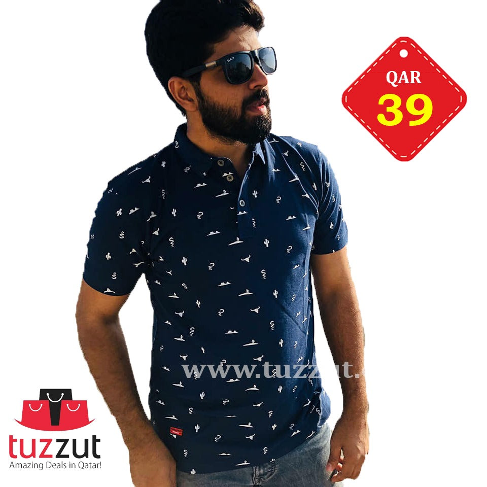 Stylish T-Shirt for Men - T301 - TUZZUT Qatar Online Store
