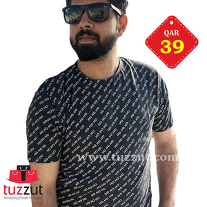 Stylish T-Shirt for Men - T201 - TUZZUT Qatar Online Store