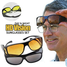 Load image into Gallery viewer, HD Vision Day & Night Wrap Around Glasses